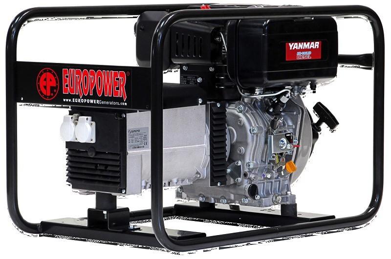 Генератор дизельный Europower EP 6000 D (2) в Абдулино