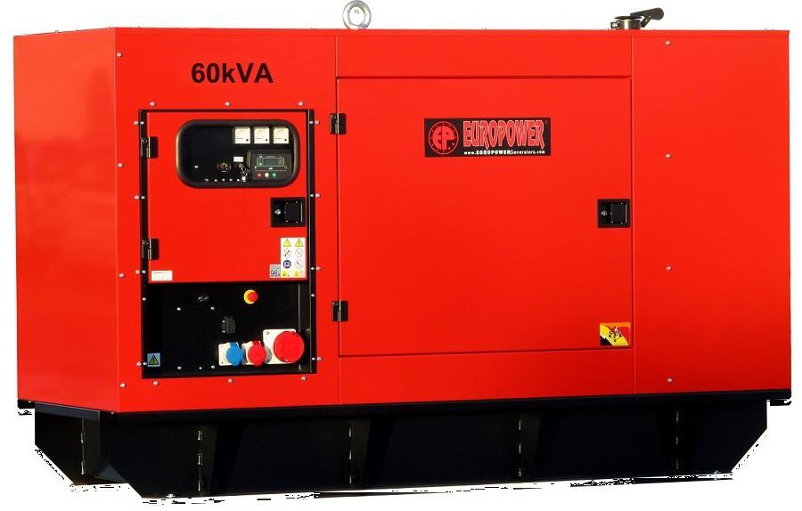 Генератор дизельный Europower EPS 130 TDE в Абдулино